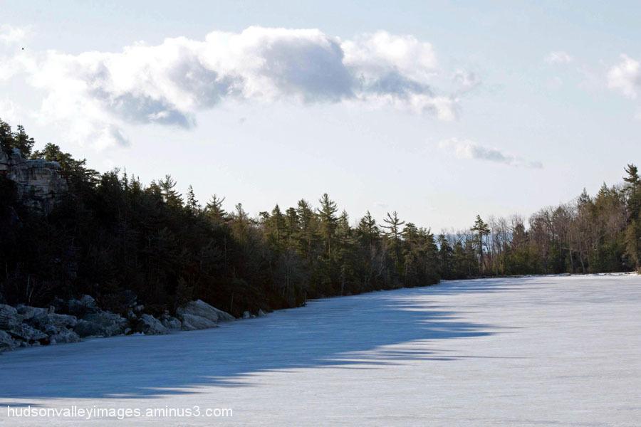 Not Quite Spring (Frozen Lake)