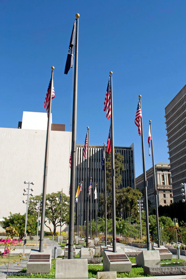 Court of Historic American Flags