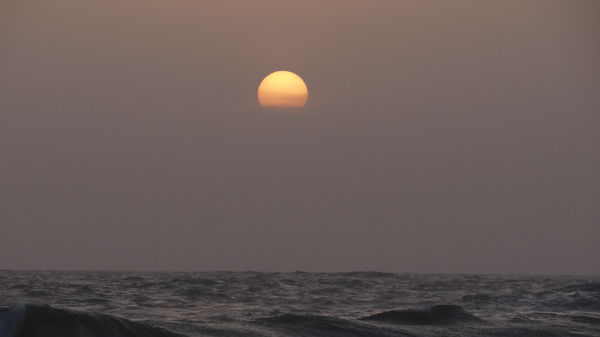 Sunset @ Kovalam Beach