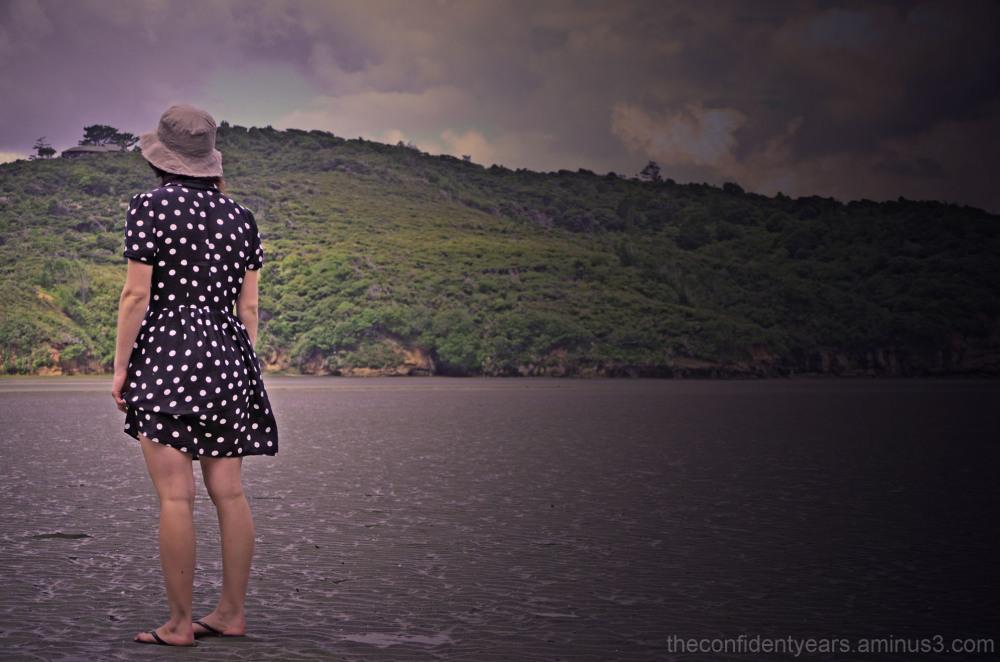waterless beach