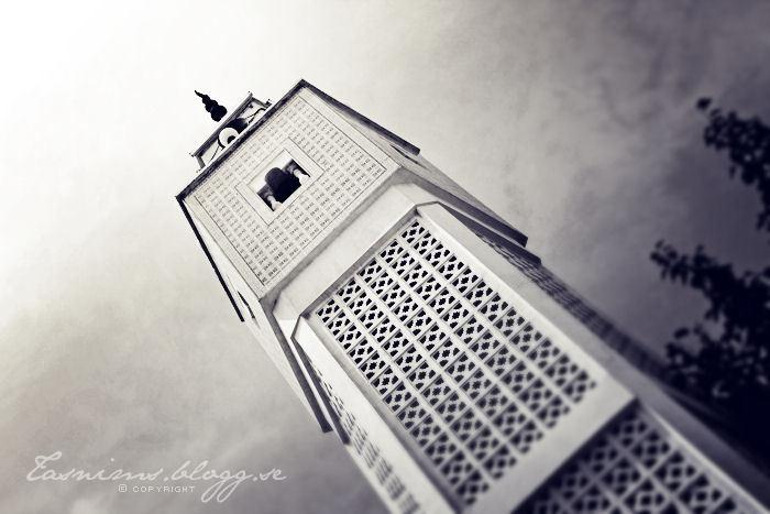 Tunisian minaret