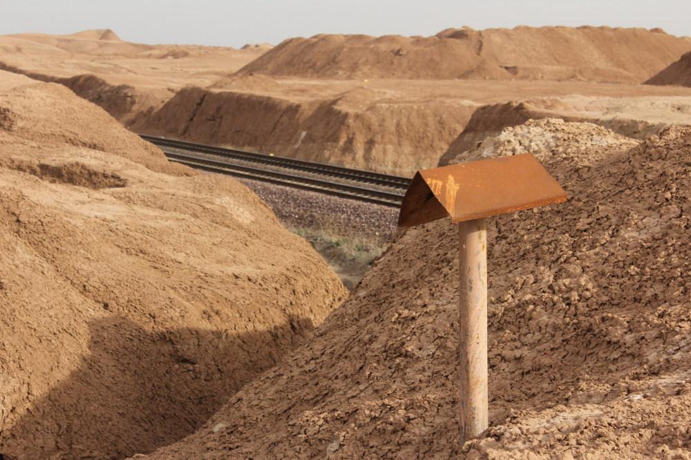 desert railway nowhere
