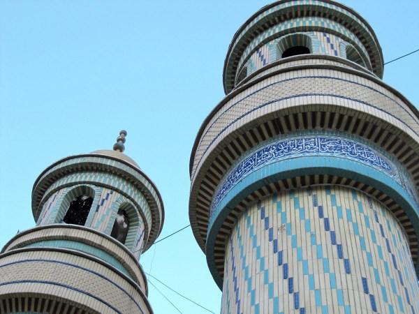 Nogol minarets Kermanshah