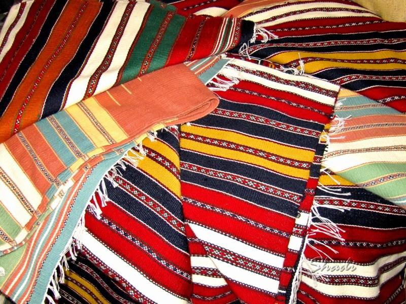 Handmade turkmen rugs