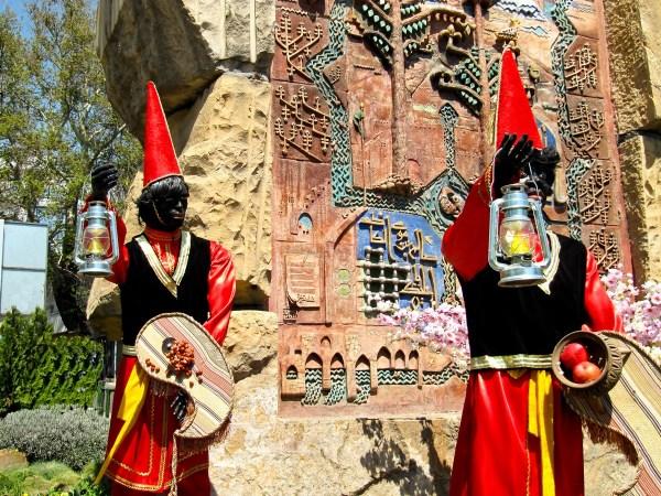 Hājji Firuz, the traditional herald of NewYear
