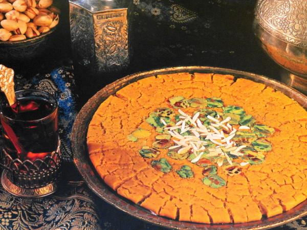 eftaari fasting ramazan sohan pistachio tea