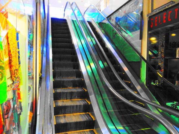 Escalator chaloos mazandaran iran