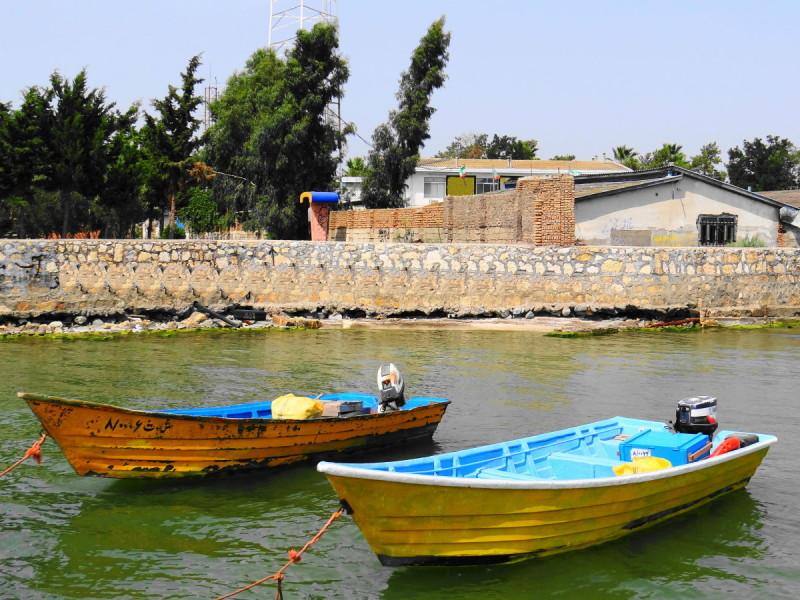 motorboat ashooradeh-island golestan iran