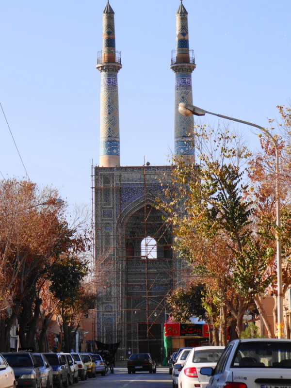 yazd kabir-mosque