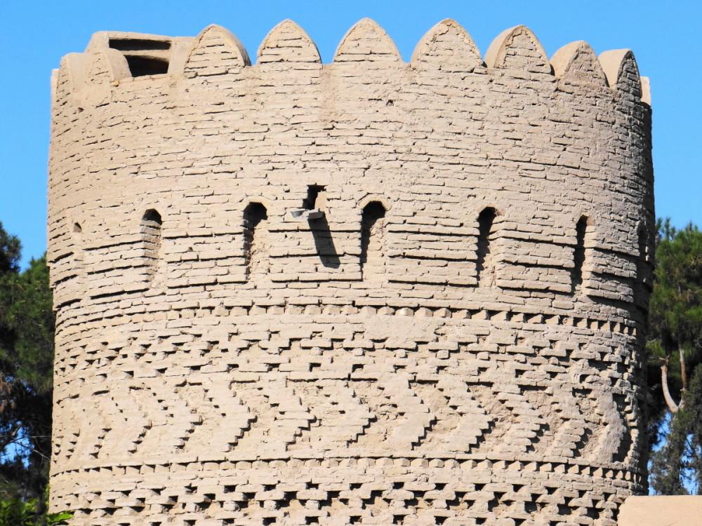 yazd dolat-abad-garden castle
