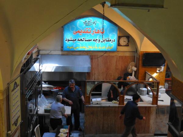 northwest tour iran travel tabriz Shashlik kebab