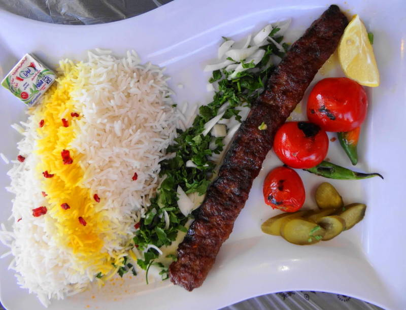 northwest tour iran travel mahabad Koobideh-Kebab