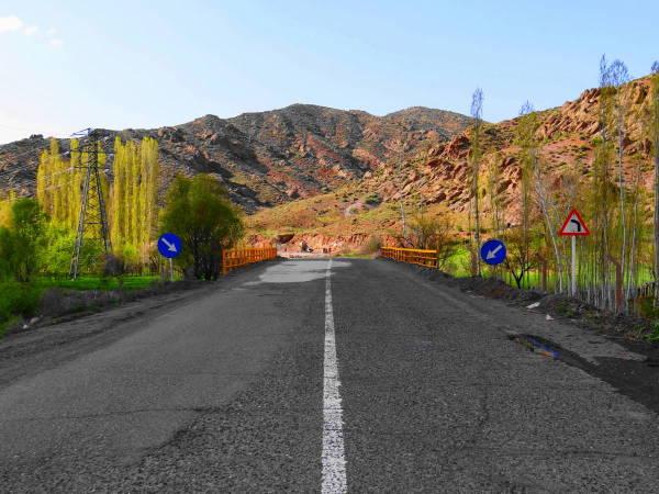 northwest tour iran travel khalkhal-road