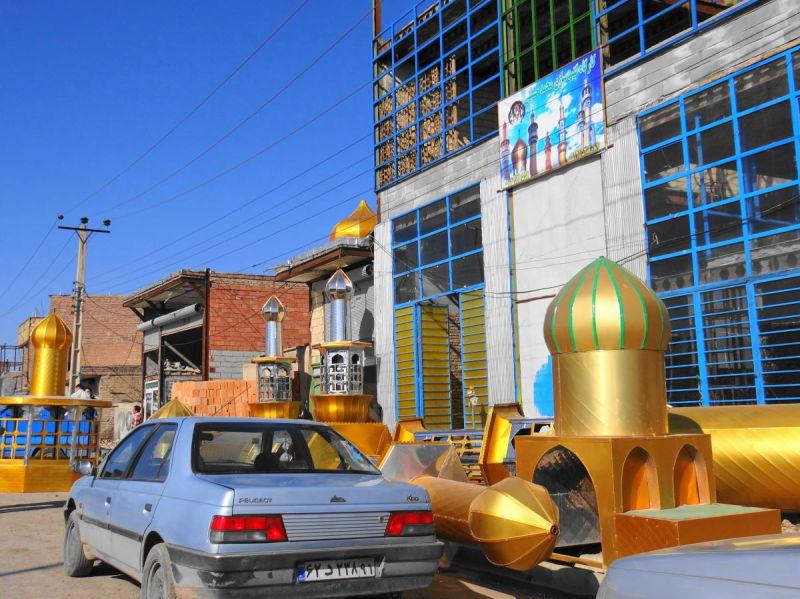 northwest tour iran travel ramsar dome