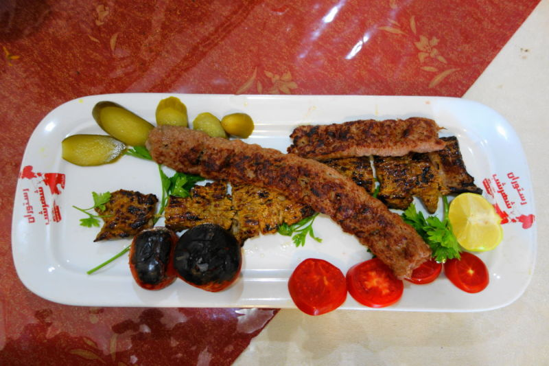 kebab golpayegan delicious