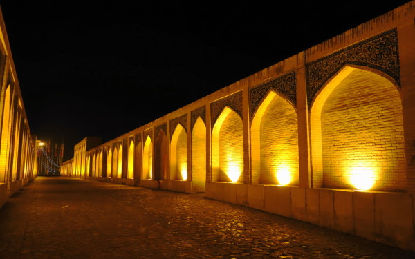 khajoo bridge isfahan safavid اصفهان زاینده-رود
