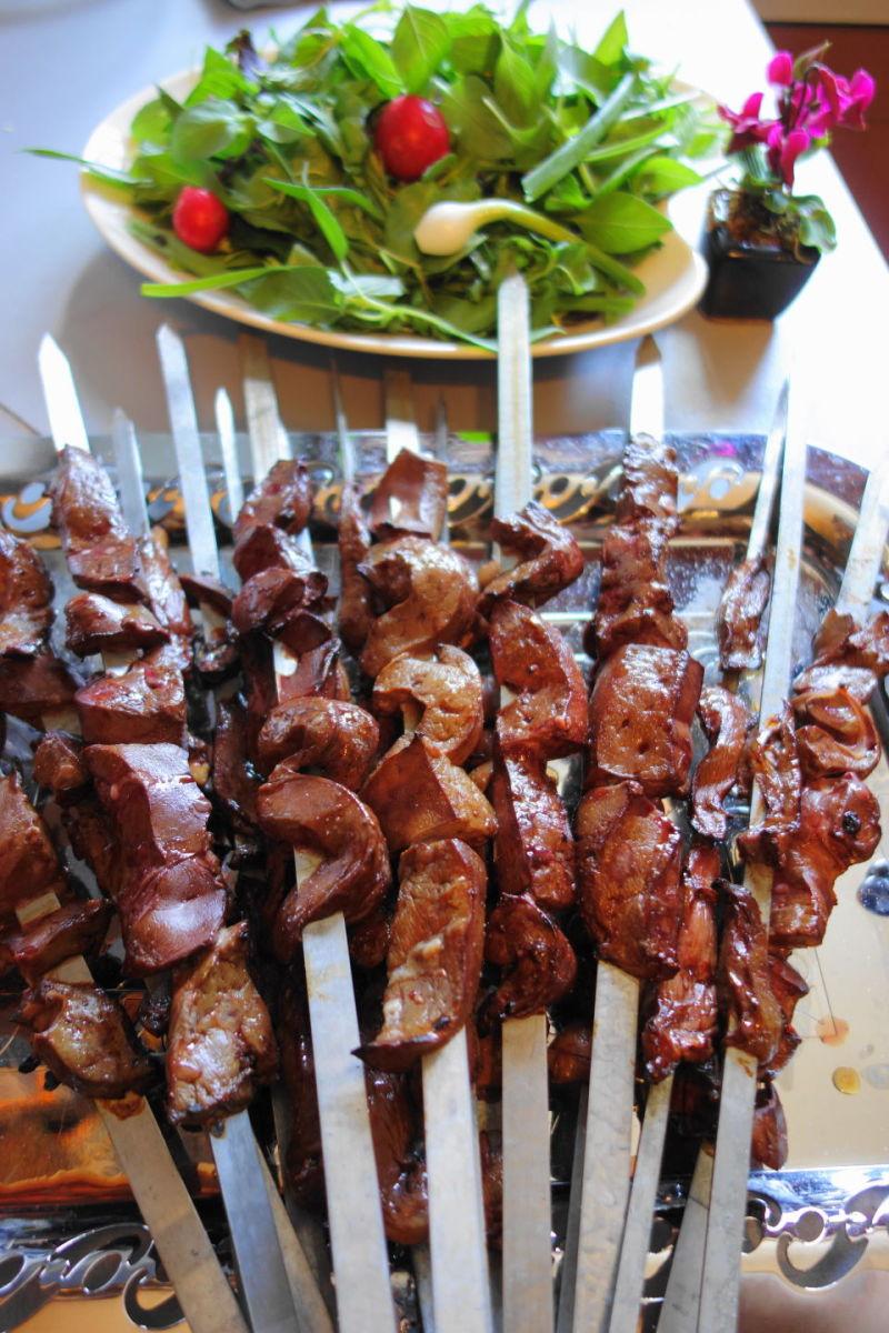 qeshm island persian-gulf delicious kebab