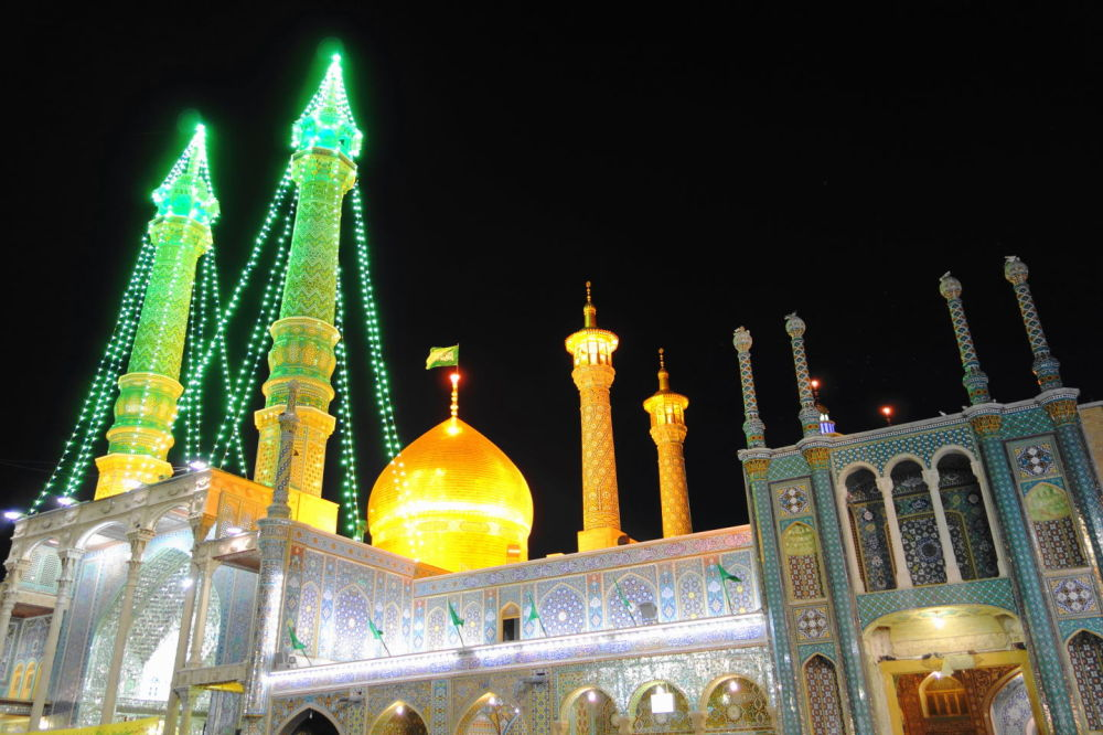 qom holy-shrine حرم حضرت-معصومه قم