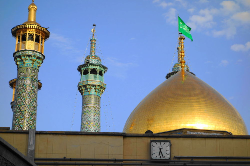 qom holy-shrine حرم حضرت-معصومه قم