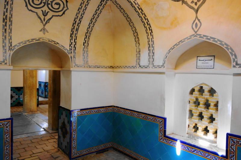 kashan fin-garden qajar-dynasty باغ-فین حمام-فین