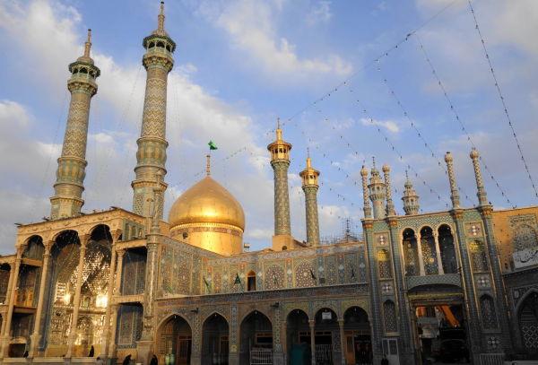 qom holy-shrine masterpiece حرم قم