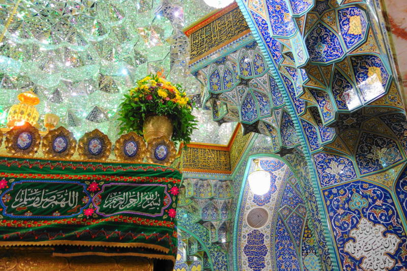 qom holy-shrine masterpiece حرم قم