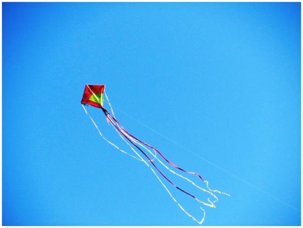 A dancing kite