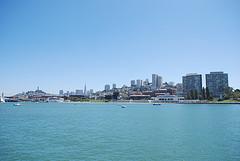 Pier view of San Fransisco
