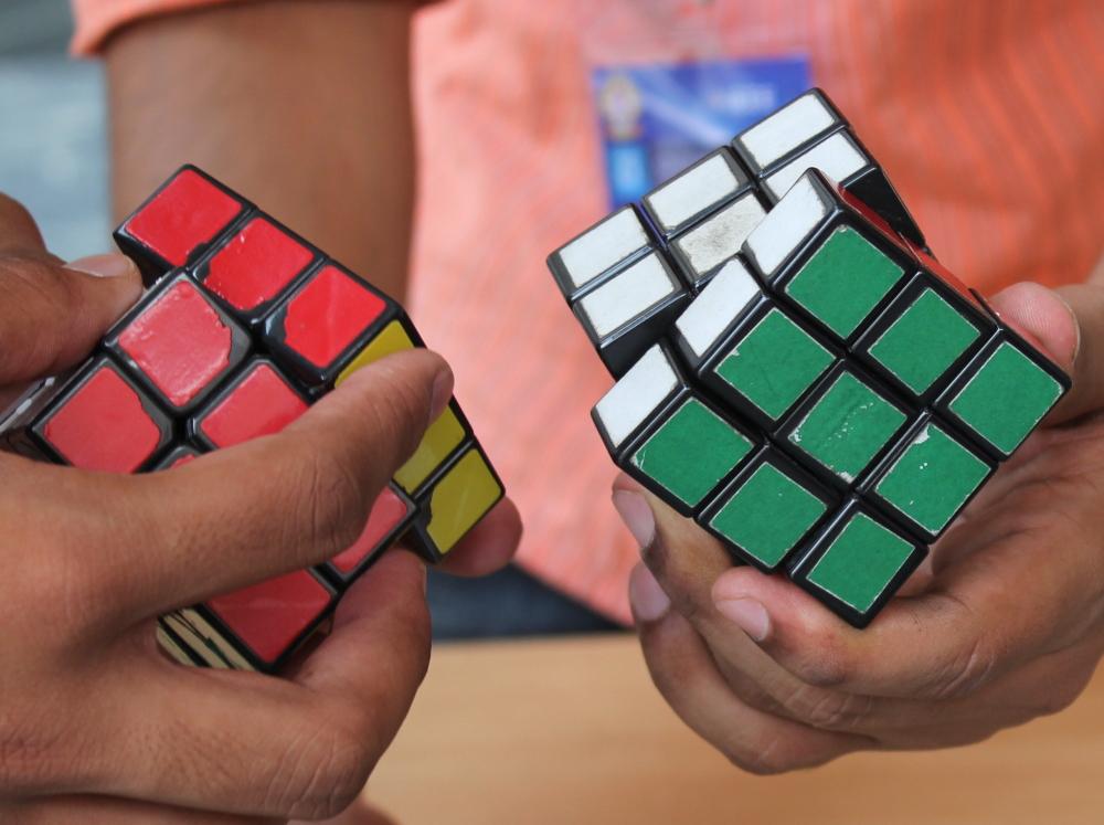 Rubix's cube...