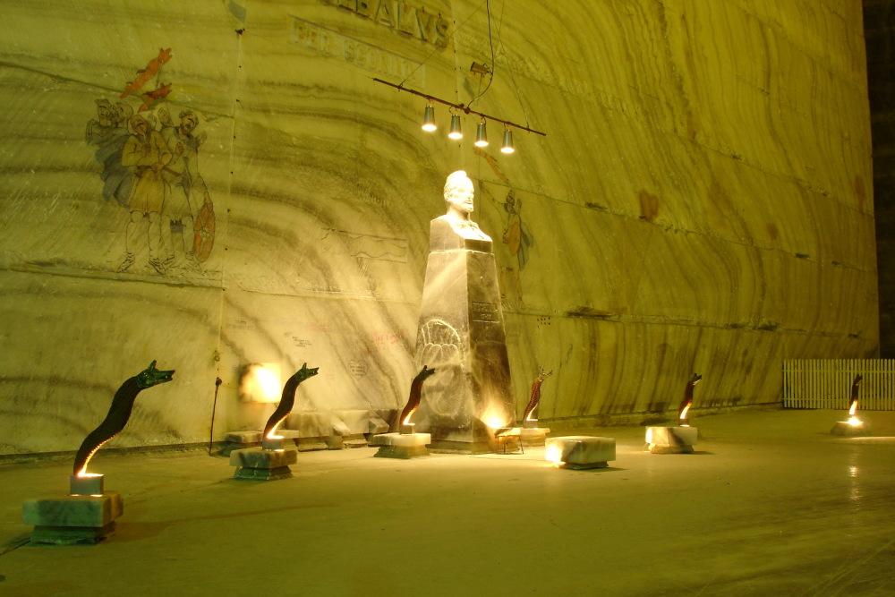 Sculpture Salina Salt Mine Slanic Prahova
