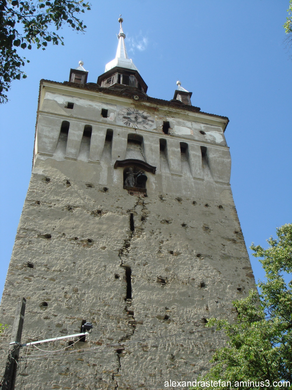 Turla bisericii din Saschiz