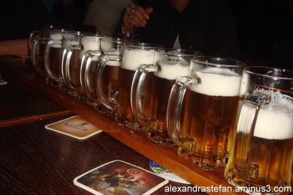 Un metru de bere