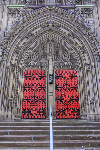 Heinz Memoria Chapel at University of Pittsburgh