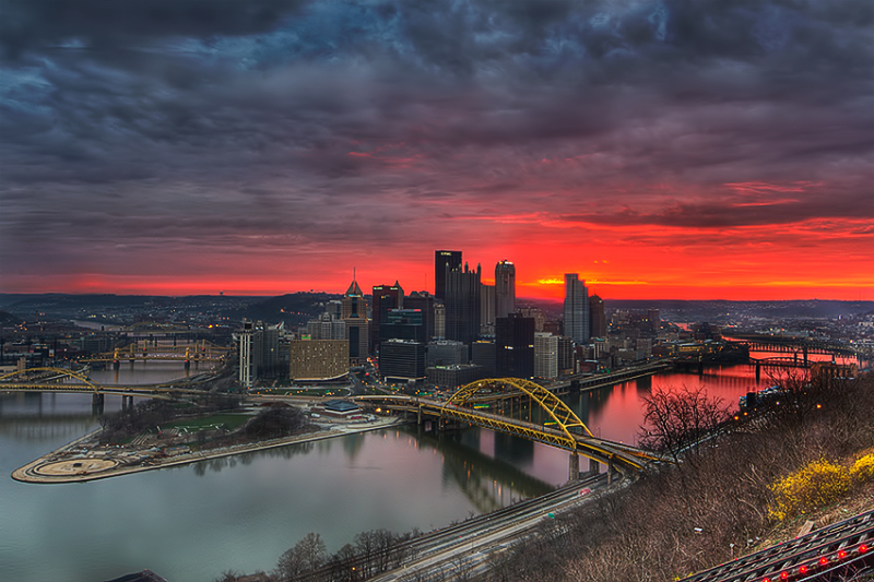 Burgh at Sunrise