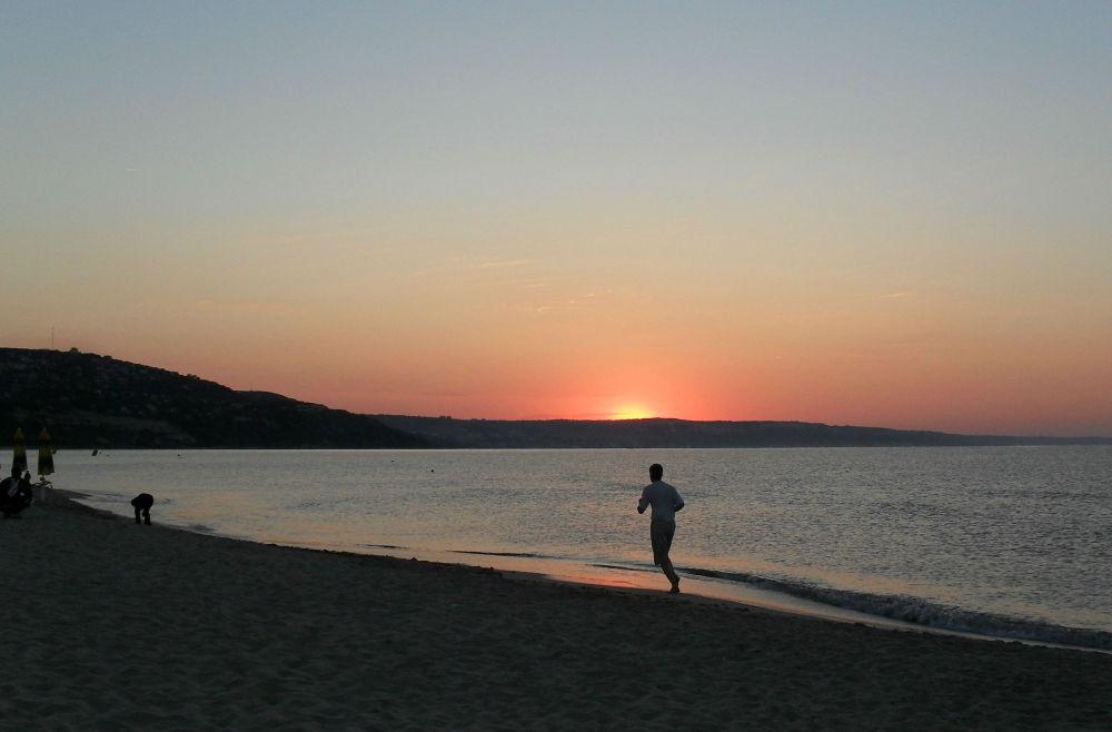 Sunrise in Albena