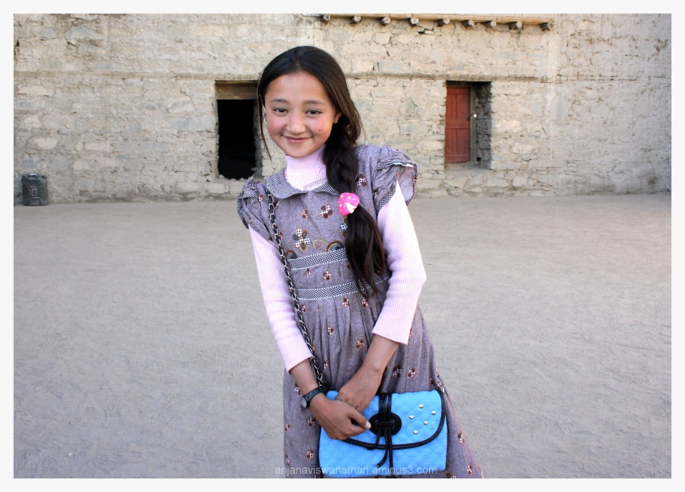 ladakh people girl