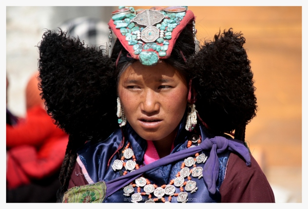 ladakh people woman