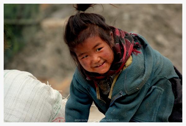 Ladakh People child nomad