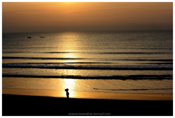 SUNRISE BEACH ODISHA INDIA