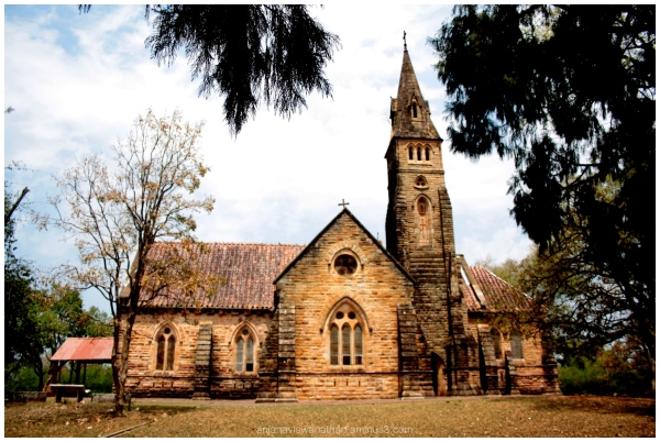 Protestant Church at Panchmarhi madhya pradesh
