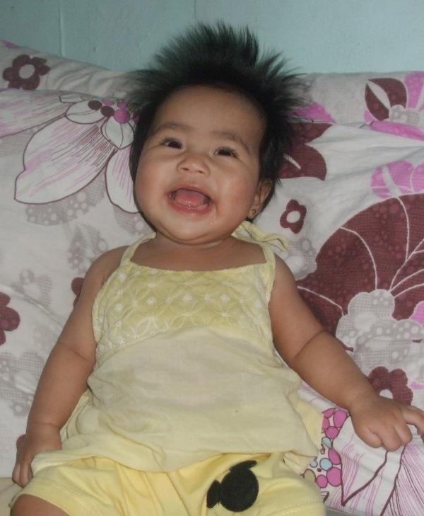 little angel, BIG smile