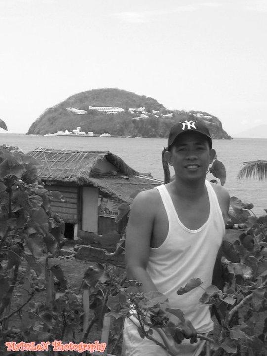 summer of 2010, my hubby @ Buenavista Marinduque