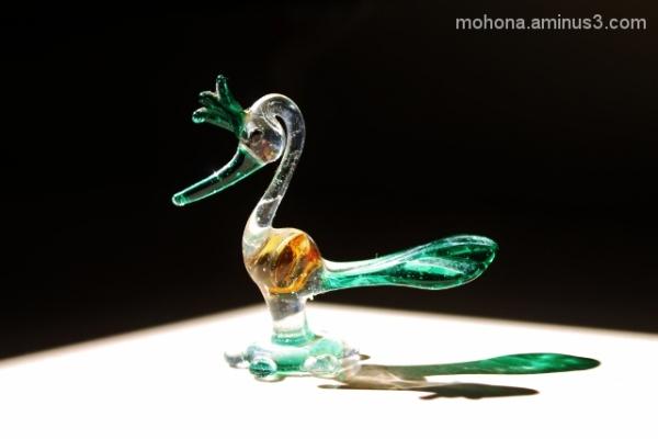 Glass Peacock