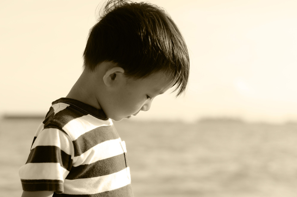 Kids portrait, beach