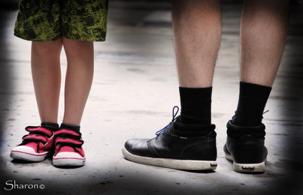 Street legs shoes