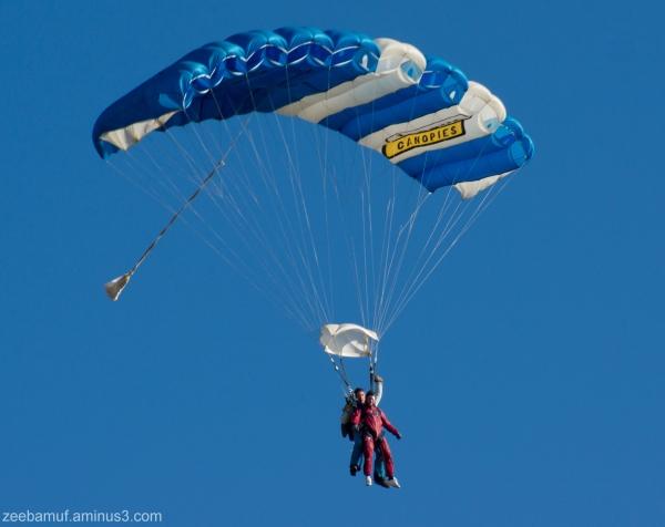 Hinton skydive