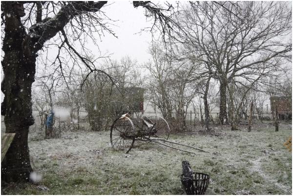 es schneit es schneit kommt alle aus dem haus