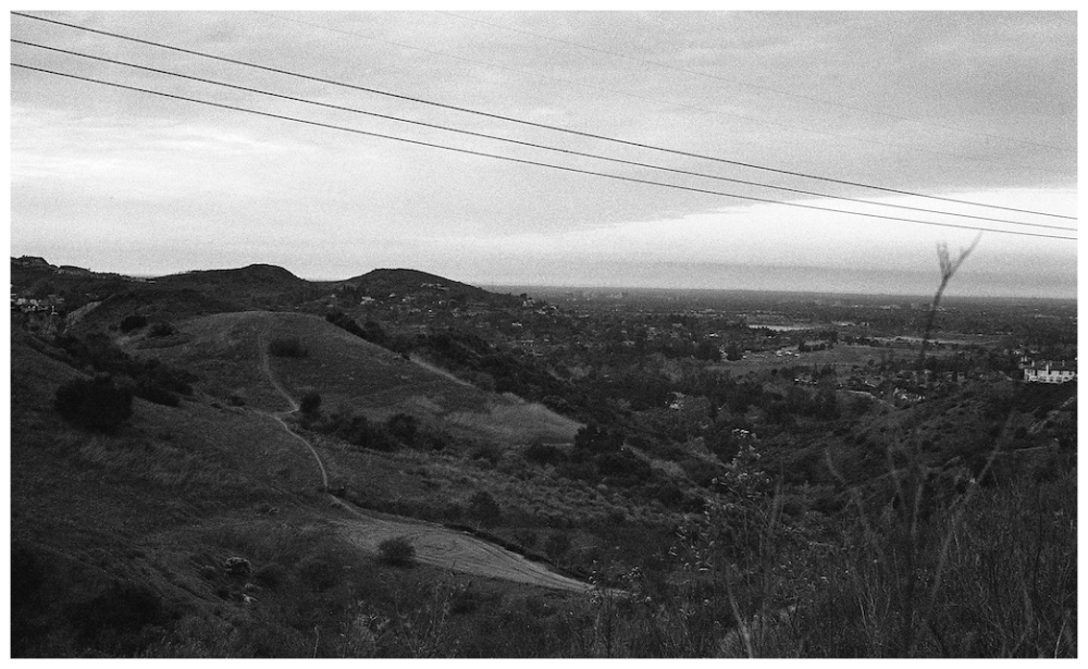 hills and wires