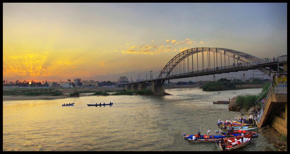 لب کارون - karun river