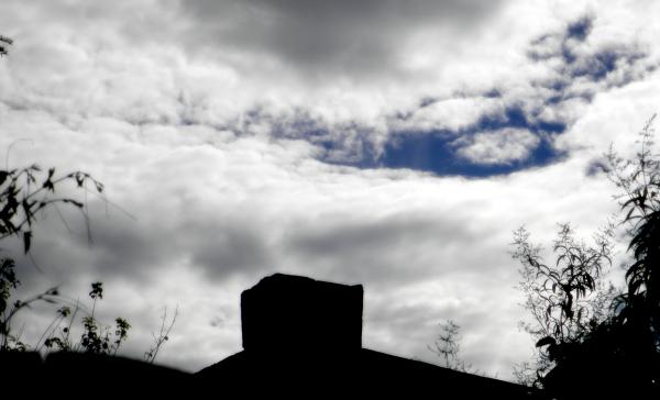 Una mañana con nubes de tormenta